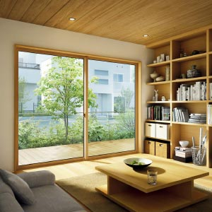断熱・防露性に優れた「樹脂複合窓」 (アルミ樹脂複合窓エピソードNEO・Low-E複層)